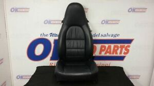 01 Porsche 911 996 Carrera Front Right Passenger Power Seat Black Leather