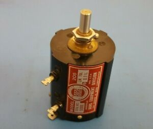Potentiometers Precision Borg Model 205 10 Turn 50k Ohm 0 1