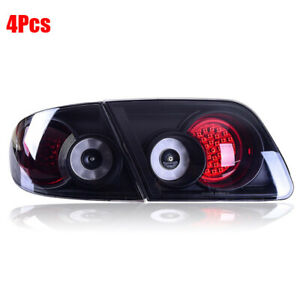Tail Lights Led Smoke Lens Rear Taillight Assembly Lamp Fit For Mazda 6 2003 15