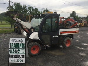 2004 Bobcat 5600 Toolcat 4x4 Diesel Utility Vehicle Cab Loader Hydraulic Dump