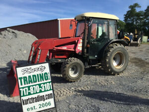 2006 Mahindra 4510 4x4 Diesel Compact Tractor Cab Loader 1500hrs Coming Soon