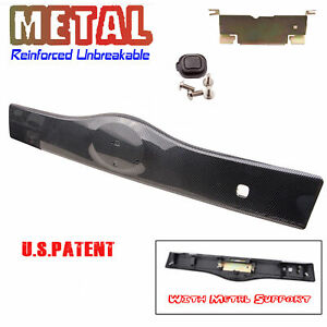 Rear Tailgate Liftgate Handle Garnish For 2004 2009 Toyota Prius Carbon Fiber