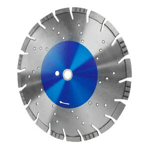 12 x 125 Saw Blade All Pro Cutting Concrete Wet And Dry 10mm Rim 1 20mm Arbor