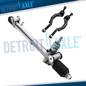 New Power Steering Rack And Pinion Outer Tie Rods Chevy Trailblazer Gmc Envoy