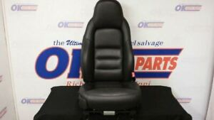 05 Chevy Corvette C6 Front Passenger Right Power Seat Black Leather