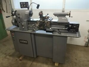 Hardinge Precision Tool Room Lathe Hlv h 11 x 18 Great Condition
