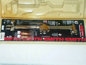Smith Lifetime Cutting Welding Torch Set Wh200 Handle Dg209 Attachment