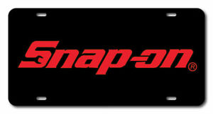 Snap On Tools License Plate Novelty Car Vanity Tag Mechanic Wrenches Ratchets