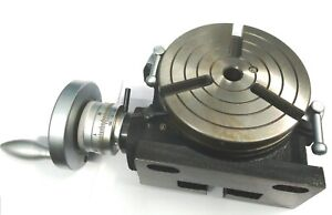 Horizontal Vertical Hv6 Rotary Table 150 Mm 6 Inches For Milling Machine