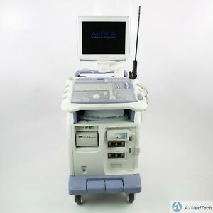 Aloka Prosound Alpha 5sx Ultrasound System With Ust 5536 7 5 Laparoscopic Probe