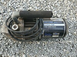Yellow Jacket 93460 Superevac 2 Stage Hvac Vacuum Pump 6 Cfm 115v 60hz Tested