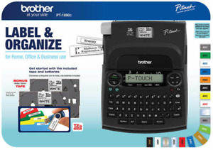 Brand New Brother P touch Label Maker Pt 1890c Free Shipping No Tax