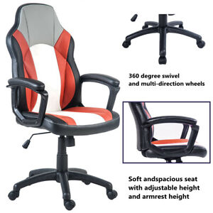 Office Chair High Back Computer Racing Gaming Chair Ergonomic Chair Recliner Us