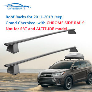 Cross Bar Crossbar Roof Racks For 2011 2019 Jeep Grand Cherokee Luggage Carrier
