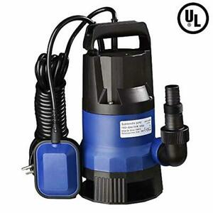 1hp Water Pump Powered Durable Oil Cooled Electric Motor Heavy Duty Transfer