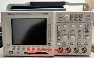 Tektronix Tds3034 Four Channel Color Digital Phosphor Oscilloscope