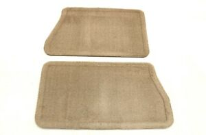 New Oem Gm Carpeted Rear Floor Mats Cashmere 19206523 Chevy Gmc Truck Suv 09 14