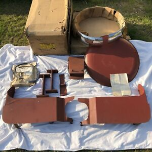 1957 1958 Plymouth Foxcraft Continental Kit Mint Nos