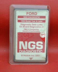 Ford Ngs New Generation Star Tester Diagnostic Scanner Card red 1999 2004