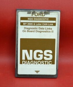 Ford Ngs New Generation Star Tester Card Brown My 2005 Later Can Link