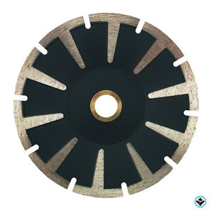 5 Premium Segmented Concave Diamond Blade For Granite Stone Marble Sink Cutout