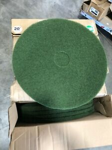 Dura Wax Green Floor Cleaning Pads 20 Green free Shipping 20 Pads Total
