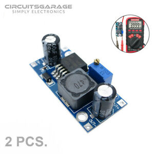 2 X Lm2596s Dc dc 3a Step Down Variable Buck Converter Power Supply Module Us