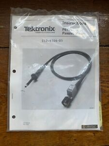 Tektronix Tek P6106 10x 13pf 10m Scope Probe 2 Meter Unopened