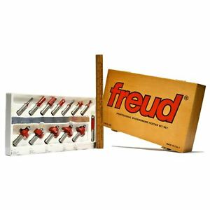 Complete Freud woodworking Router Bit Set 91 100 W 13 Specialty Bits Box