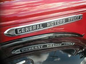 1947 Gmc Diesel Truck Hood Side Emblems new