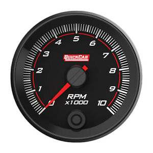 Quickcar Racing Products Redline Tachometer 2 5 8 Recall P n 69 001