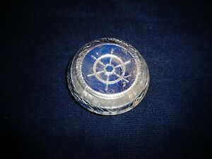 1955 1956 Packard Clipper Constellation Panama Steering Wheel Horn Cap Button