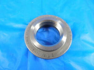 1 11 1 2 Nptf L2 Pipe Thread Ring Gage 1 0 11 5 Quality Inspection Npt L 2