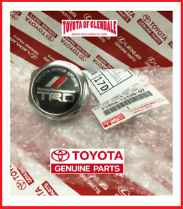 Toyota Scion Lexus Trd Oil Cap Forged Billet Aluminum Genuine Oem Ptr04 12108 02