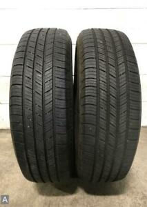 2x P225 65r17 Michelin Defender 8 9 32 Used Tires