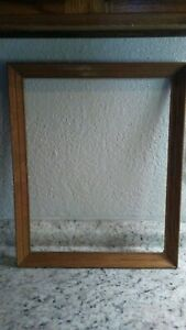 Vintage Wooden Picture Frame 18 1 4 By 14 Inches