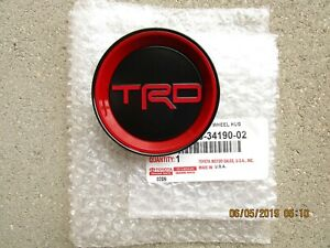 19 21 Toyota Tundra Trd Pro 18 Inches Wheel Center Cap Hub Cap Qty 1 New