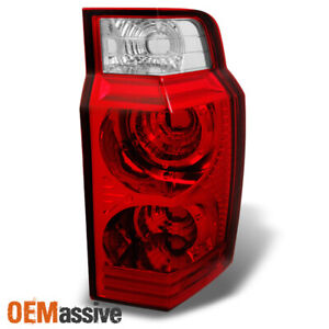 Fit 06 10 Jeep Commander Red Clear Taillight Repalcement Passenger Right Side