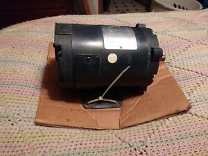 Leeson Electric Dc 1 4 Hp Permanent Magnet Motor 108045 12v 1800rpm Tenv