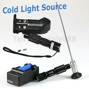 Ce Portable Handheld Led Cold Light Source Endoscopy 3w 10w Battery Surgical Us