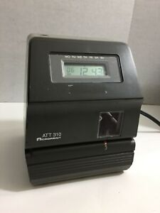 Acroprint Att310 Time Clock unit Only Need Key Cards And Ink y13
