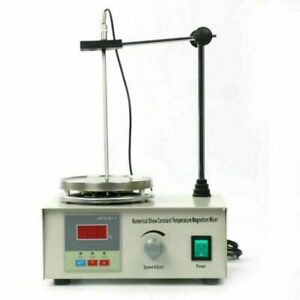 Digital Hot Plate Magnetic Stirrer Mixer Stirring Laboratory Us Free Shipping