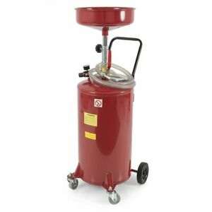 Arksen 20 gallon Waste Oil Drain Tank Air Operated Drainage Adjustable Funnel