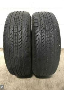 2x P215 55r17 Michelin Primacy Mxv4 8 8 5 32 Used Tires