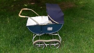 Vintage Baby Doll Carriage Rare 1950 S Welsh Art Deco Buggy Pram Mint