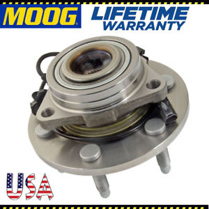 Moog Front Wheel Bearing And Hub Assembly Hub Assembly For Silverado 1500 Sierra