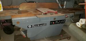 Delta Rockwell Wood Machinery Package 1 Planer 1 Jointer 3 Phase