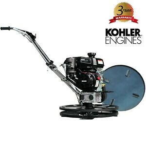 24 Gas Concrete Wet Power Trowel Cement Powered By Kohler 6hp Engine