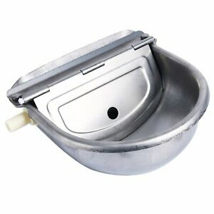 Homend Automatic Waterer Bowl Farm Grade Stainless Stock Waterer Horse Cattle Go