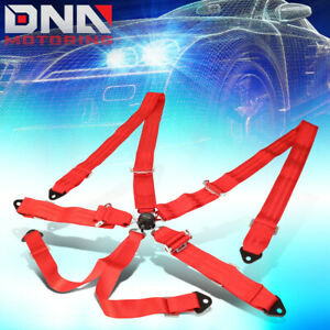 Nrg Innovations Sbh 6pcrd 6 point Cam Lock Buckle 2 Racing Seat Belt Harness
